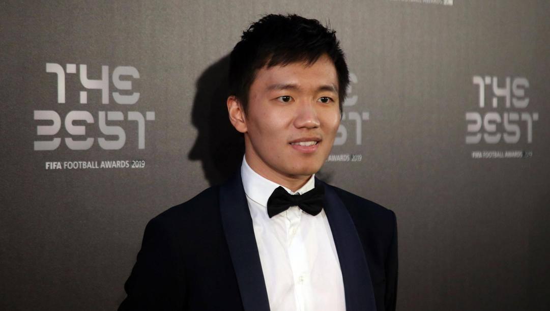 Il presidente nerazzurro Steven Zhang, 30 anni. Ansa