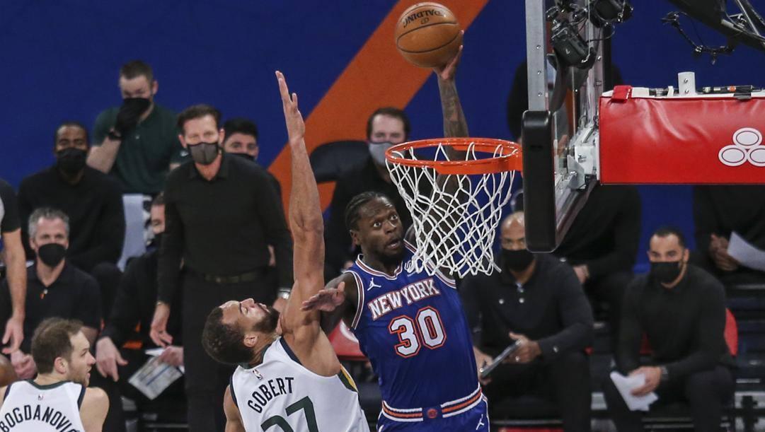 Julius Randle, 26 anni, il migliore dei Knicks finora. Ap
