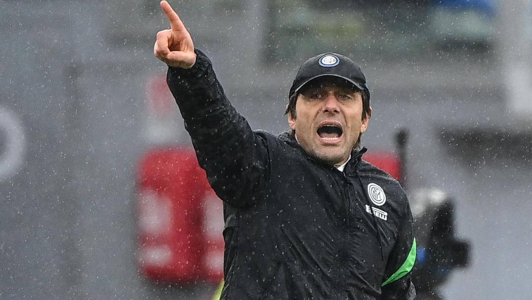 Antonio Conte. Afp
