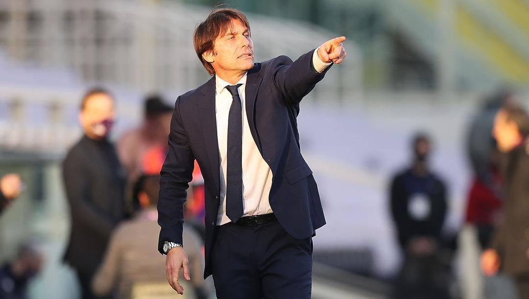 Antonio Conte, 51 anni, tecnico dell'Inter. Getty