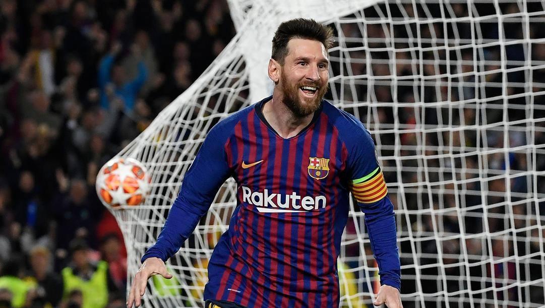 Leo Messi, il calciatore più pagato, circa 70 milioni lordi all'anno. Afp