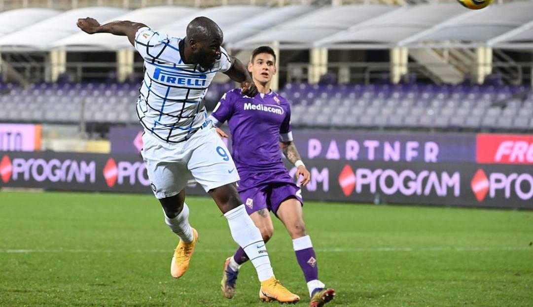 Fiorentina-Inter 1-2, decide Lukaku a 2 minuti dalla fine dei supplementari