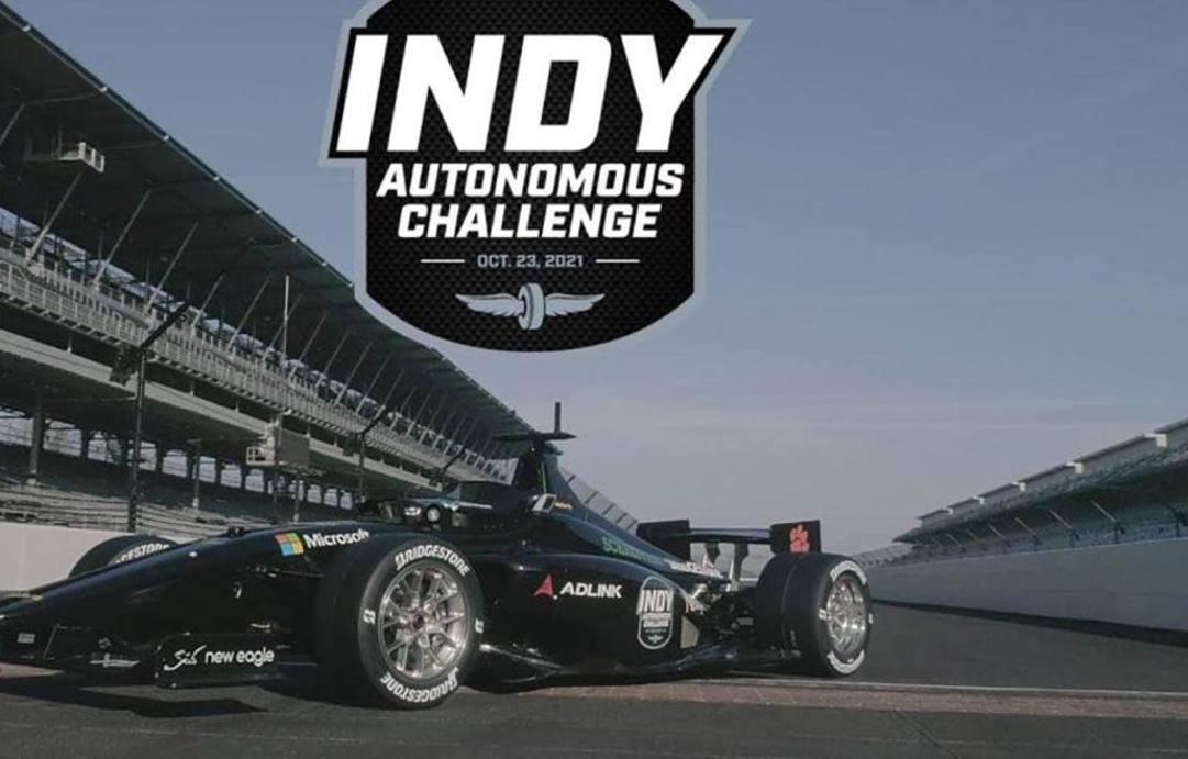 La Dallara IL-15 della Indy Autonomous Challenge