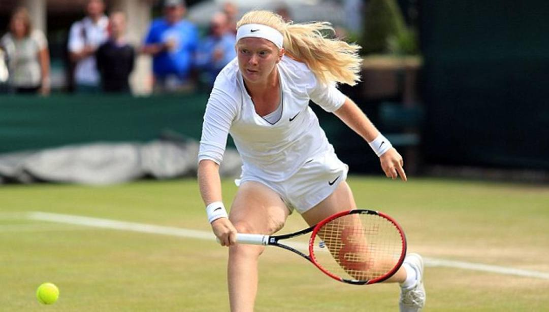Francesca Jones a Wimbledon