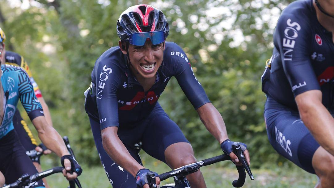 Egan Bernal. Bettini