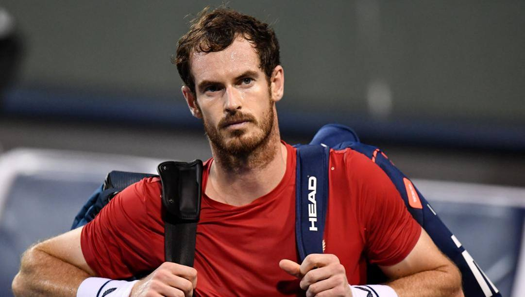 Andy Murray, 33 anni. Afp