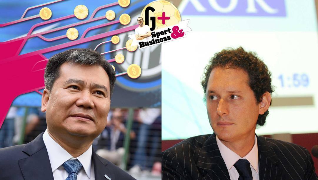 Zhang Jindong e John Elkann