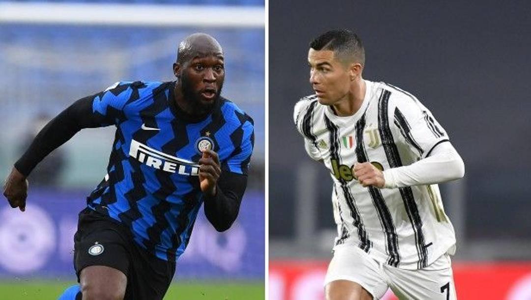 Romelu Lukaku, 27 anni, e Cristiano Ronaldo, 35