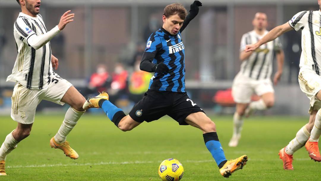 Il gol di Barella alla Juve. Getty