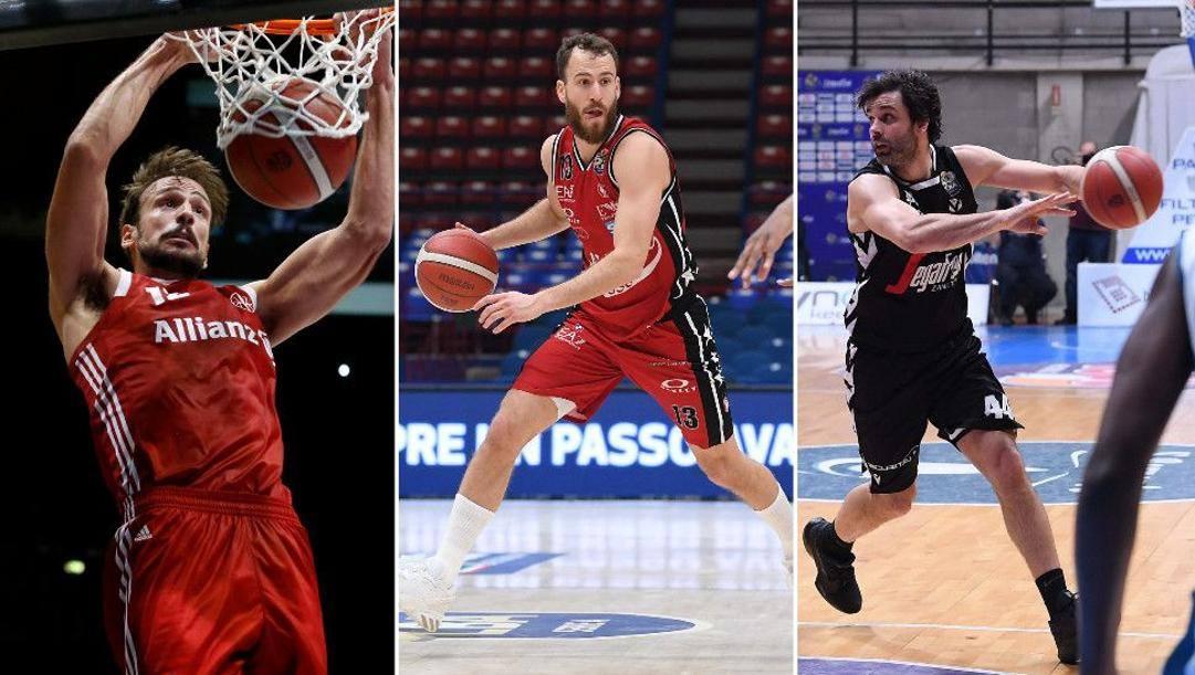 Marcos Delia, Sergio Rodriguez e Milos Teodosic