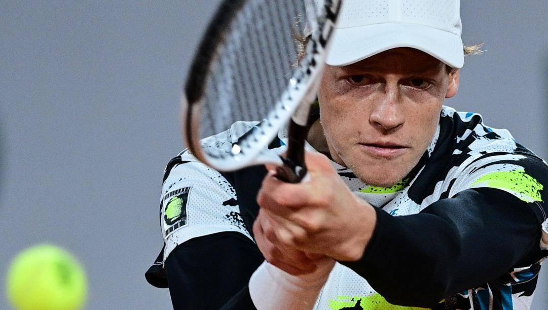 Jannik Sinner, 19 anni, talento del tennis azzurro. Afp
