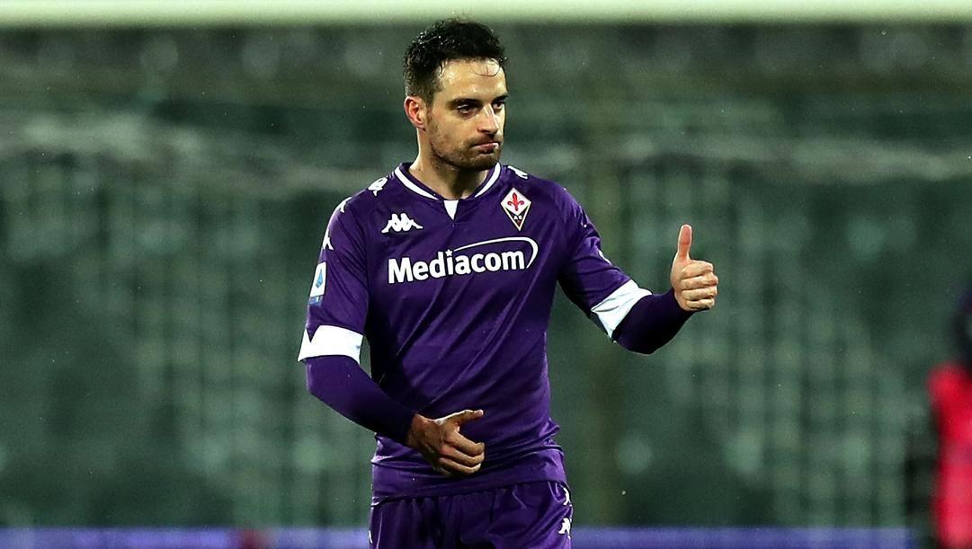 Giacomo Bonaventura. prima stagione alla Fiorentina. Getty