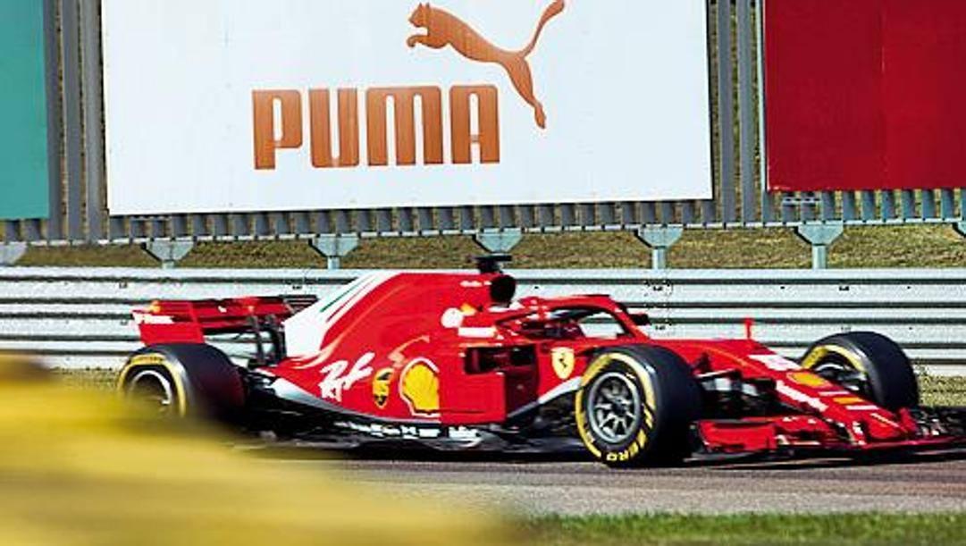 La Ferrari del 2018 che verrà impiegata nei test di questi giorni a Fiorano