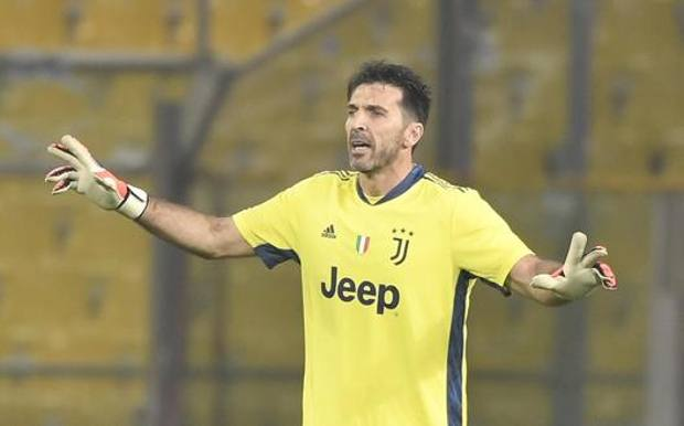 Gianluigi Buffon, 42 anni, al Tardini. Getty Images