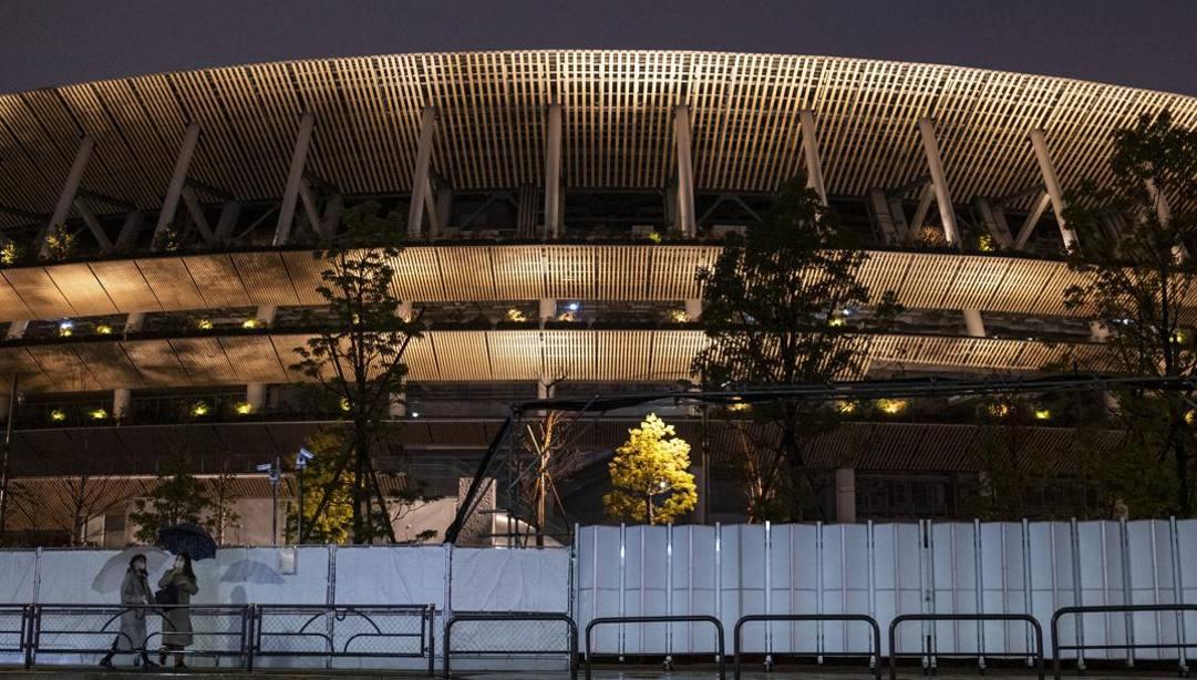 Lo Stadio Olimpico AP