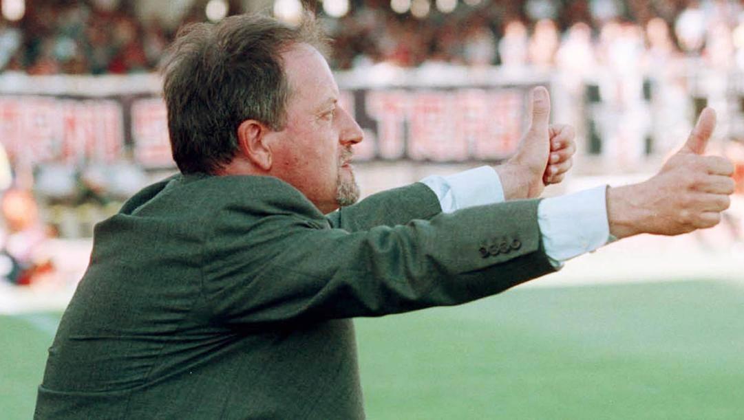 Renzo Ulivieri, 79 anni, ex allenatore della Sampdoria. Ap
