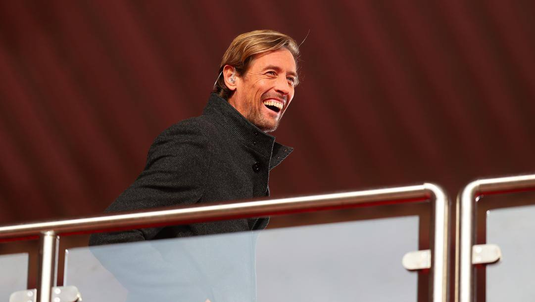 Peter Crouch da spettatore in Southampton-Arsenal del 23 gennaio (Getty Images)