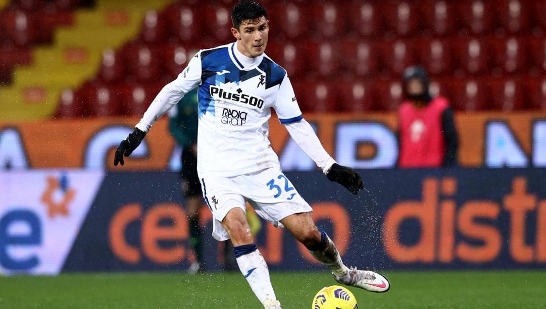 Matteo Pessina, centrocampista dell'Atalanta. Lapresse