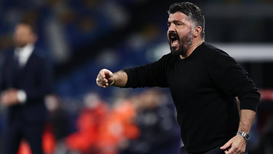 Gennaro Gattuso, 43 anni, allenatore del Napoli dall'11 dicembre 2019. Lapresse