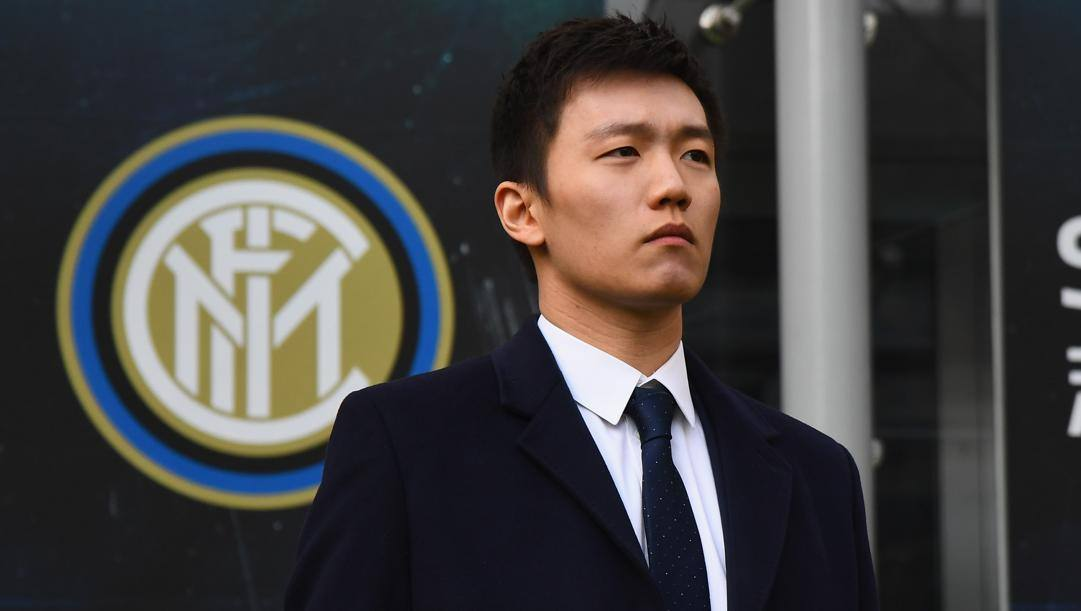 Il presidente dell'Inter Steven Zhang. Getty