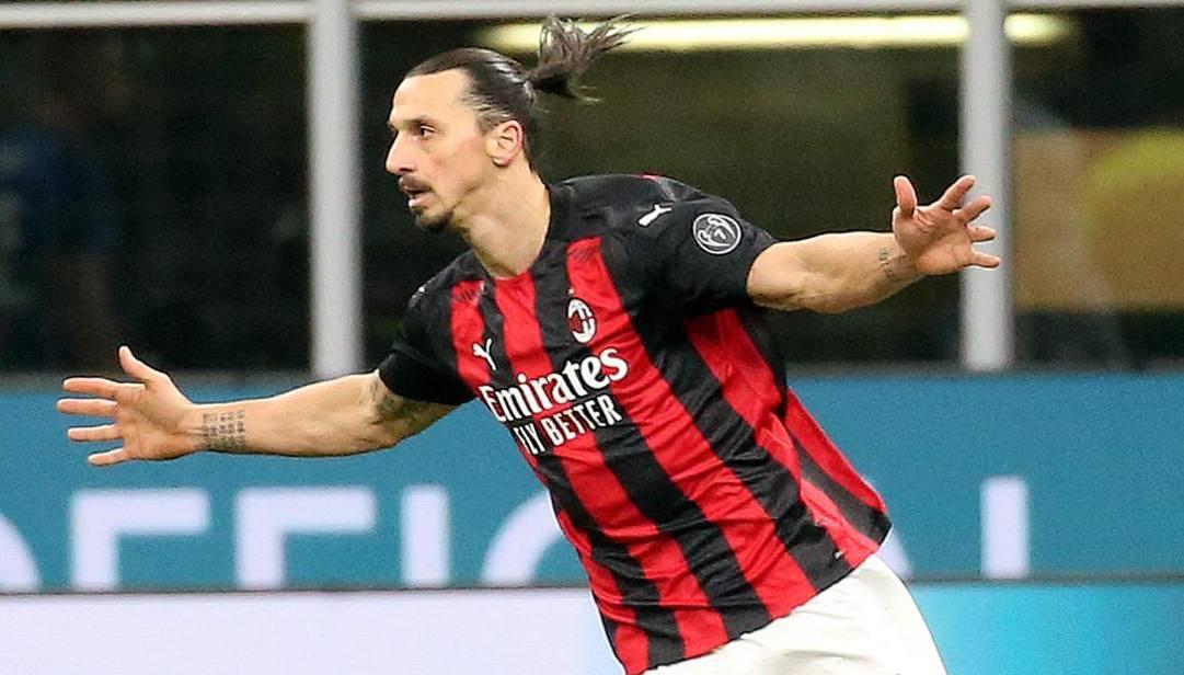 Zlatan Ibrahimovic, 39 anni, 12 gol in questo campionato. Ansa