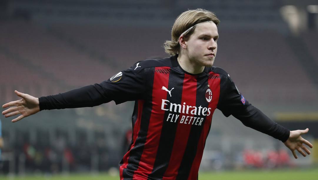Jens Petter Hauge, 21 anni. AP