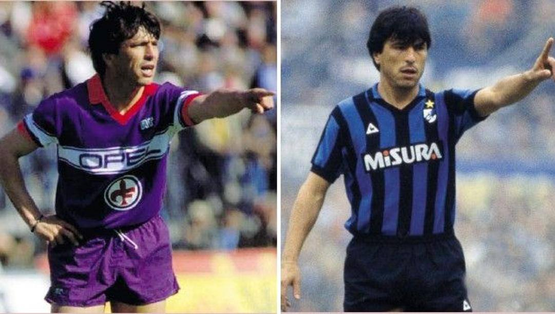 Daniel Passarella, oggi 67enne, ai tempi di Fiorentina e Inter. Liverani