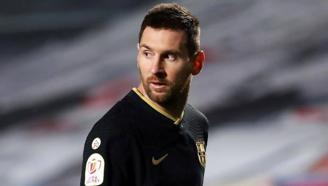 Leo Messi, 33 anni. Epa