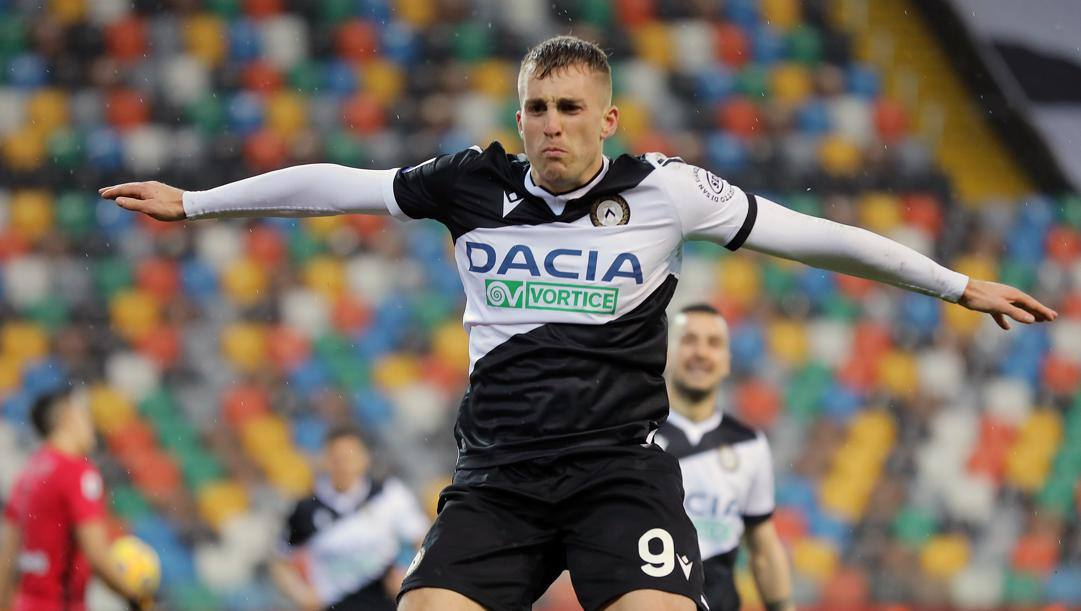 Gerard Deulofeu, 26 anni, sembra volare come l'Udinese attuale. LaPresse