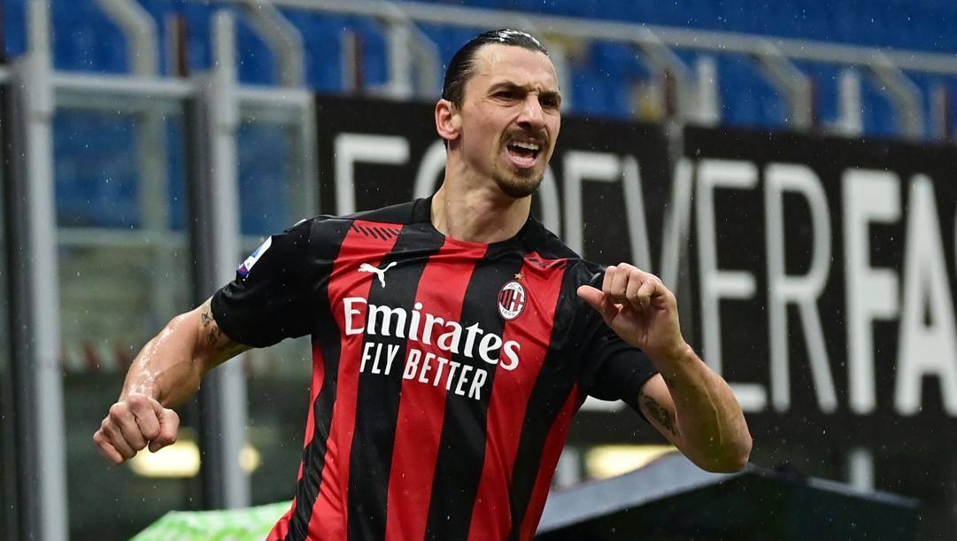 Zlatan Ibrahimovic ha segnato 14 gol in campionato finora (AFP)