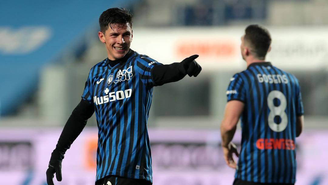 Matteo Pessina, il migliore in campo. Getty