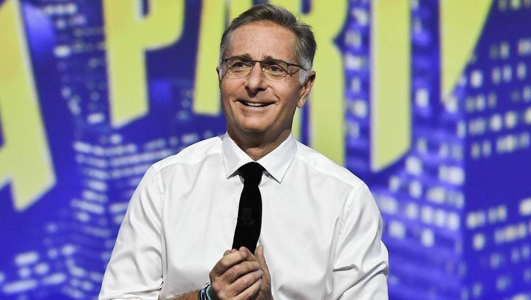 Paolo Bonolis, conduttore e noto tifoso dell'Inter