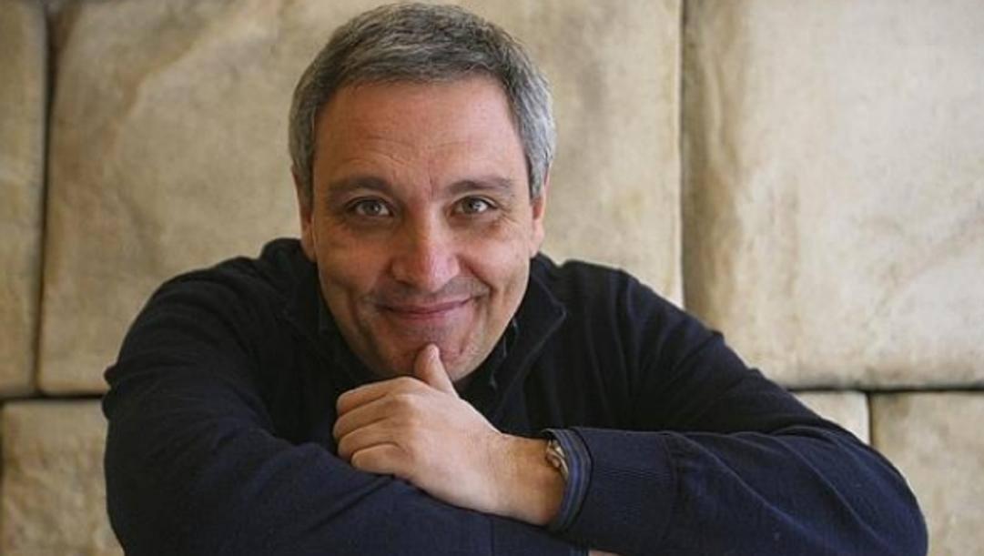 Maurizio De Giovanni, scrittore e noto tifoso del Napoli.