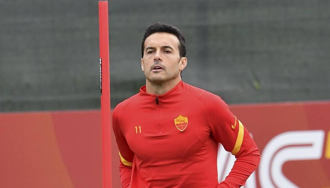 Nella foto Pedro (33 anni), 20 presenze in stagione. LaPresse