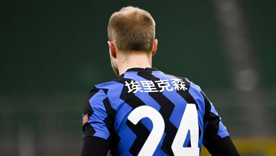 Christian Eriksen (29 anni), seconda stagione all'Inter. LAPRESSE