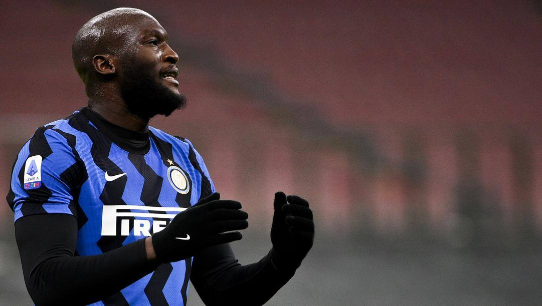 Romelu Lukaku, match winner per l'Inter. Getty