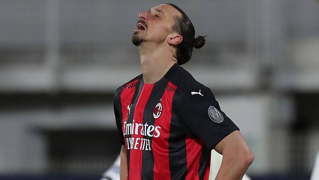 Zlatan Ibrahimovic, 39 anni. Getty
