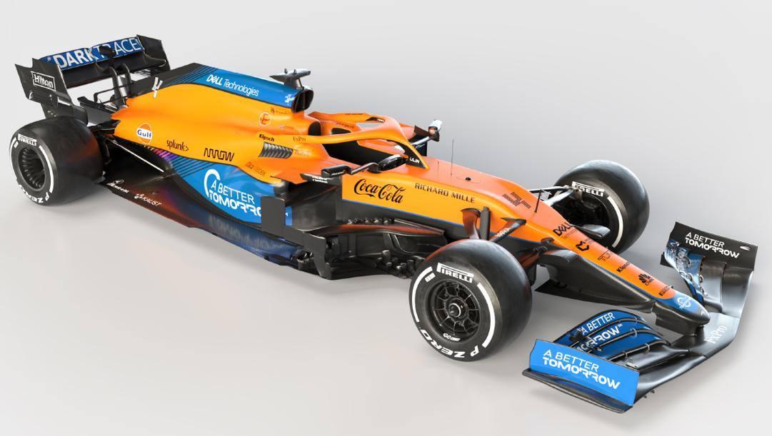 La nuova McLaren MCL35M