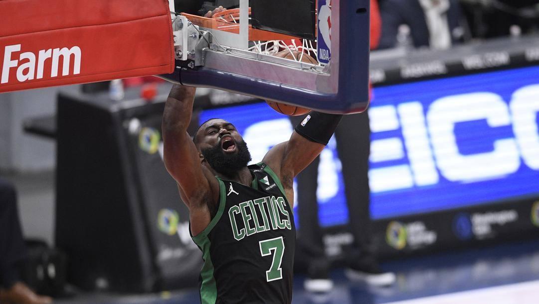 Jaylen Brown, nuova star dei Celtics. Ap