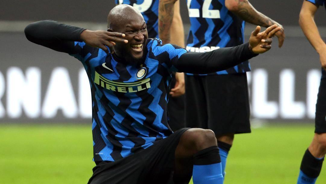 Romelu Lukaku (27 anni), seconda stagione all'Inter. Ansa