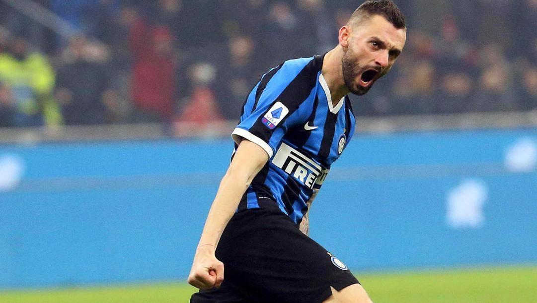 Marcelo Brozovic (28 anni), all'Inter dall'inverno 2015. EPA