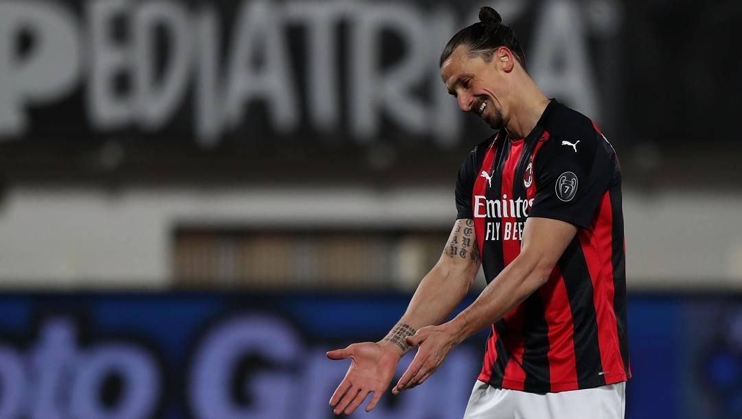 Zlatan Ibrahimovic, 39 anni (GETTY)