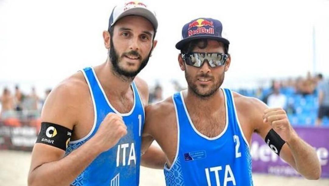 Da sinistra Paolo Nicolai, 32 anni, e Daniele Lupo, 29