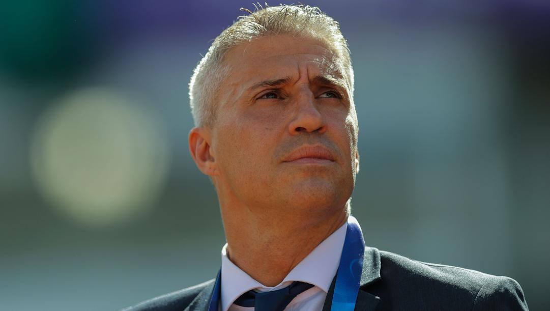 Hernán Jorge Crespo (classe 1975), neo tecnico del San Paolo. AFP