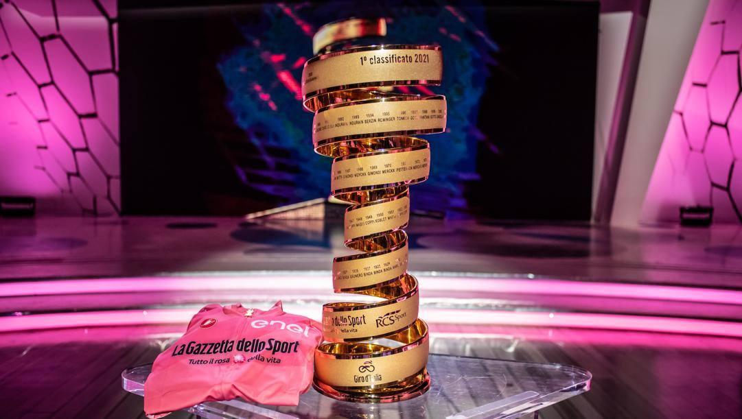 La presentazione del Giro d'Italia 2021. LaPresse