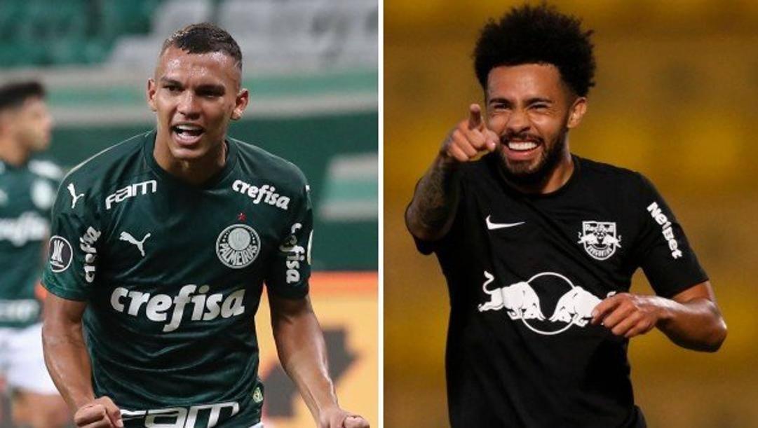 Gabriel Veron, 18 anni, e Claudinho, 24