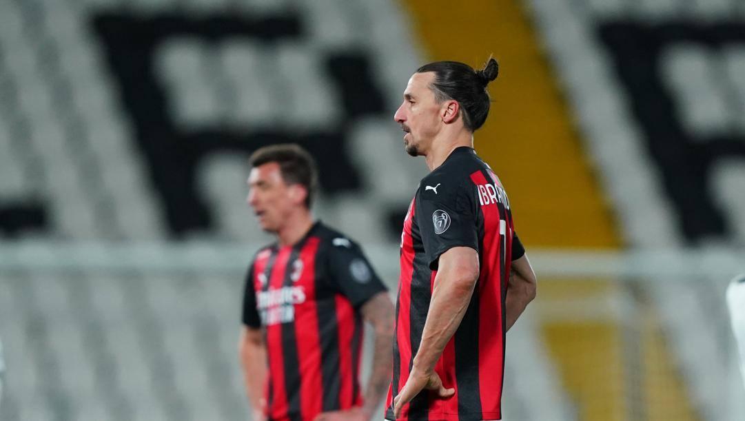 Mandzukic e Ibra: il Milan caduto a sorpresa in casa dello Spezia. Lapresse