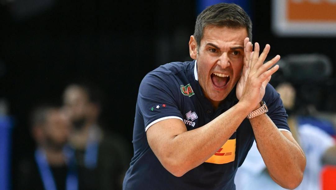 Chicco Blengini, 49 anni, nuovo allenatore di Civitanova. Ansa