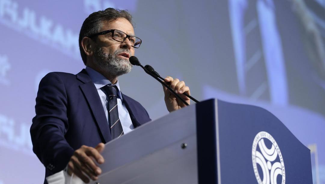 Domenico Falcone, alla guida della Fijlkam dal 2014