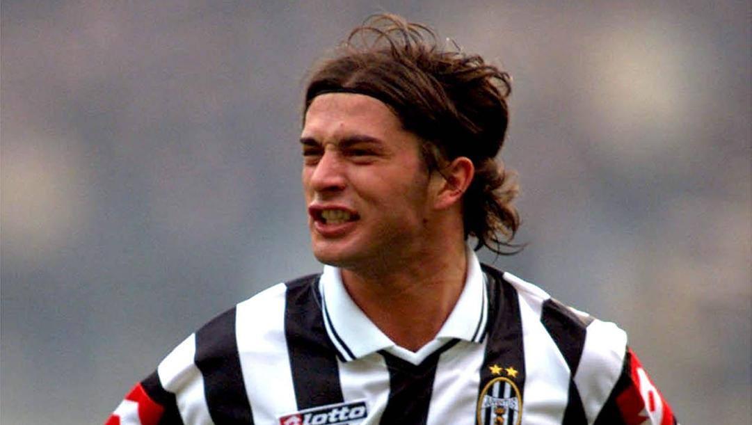 Alessio Tacchinardi, 45 anni, ex centrocampista della Juventus. Ansa